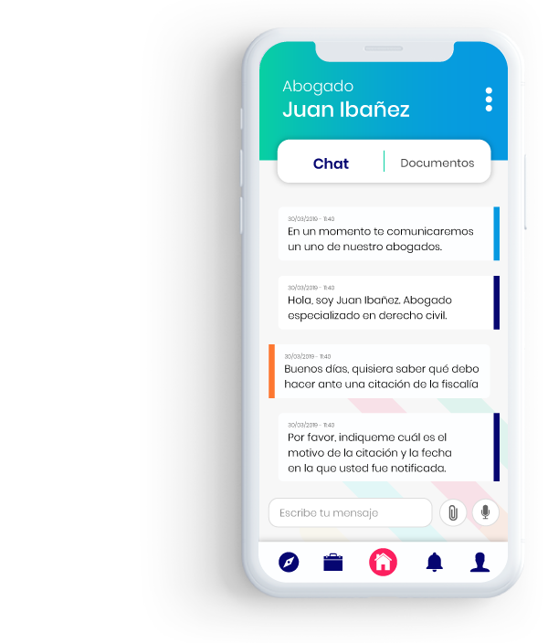 Chat Q-box Abogado